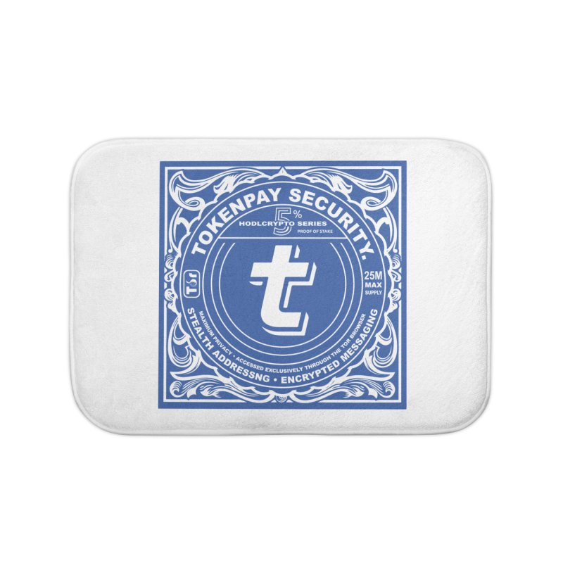 Tokenpay Security Home Bath Mat by HODL's Artist Shop