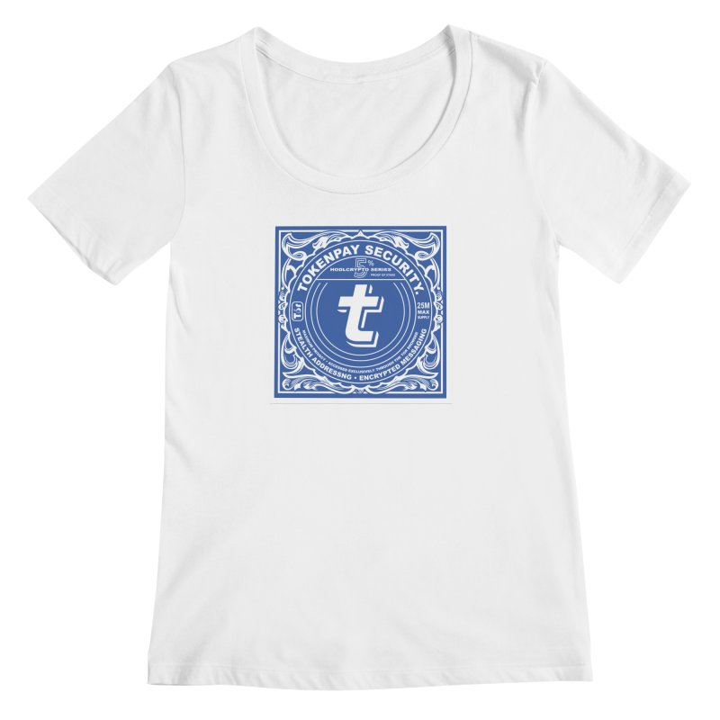 Tokenpay Security Women's Regular Scoop Neck by HODL's Artist Shop