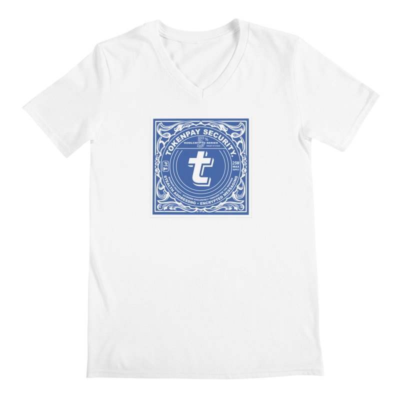 Tokenpay Security Men's Regular V-Neck by HODL's Artist Shop