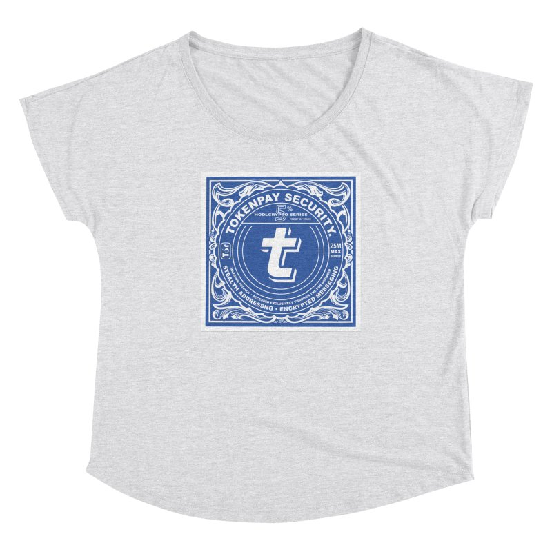 Tokenpay Security Women's Dolman Scoop Neck by HODL's Artist Shop