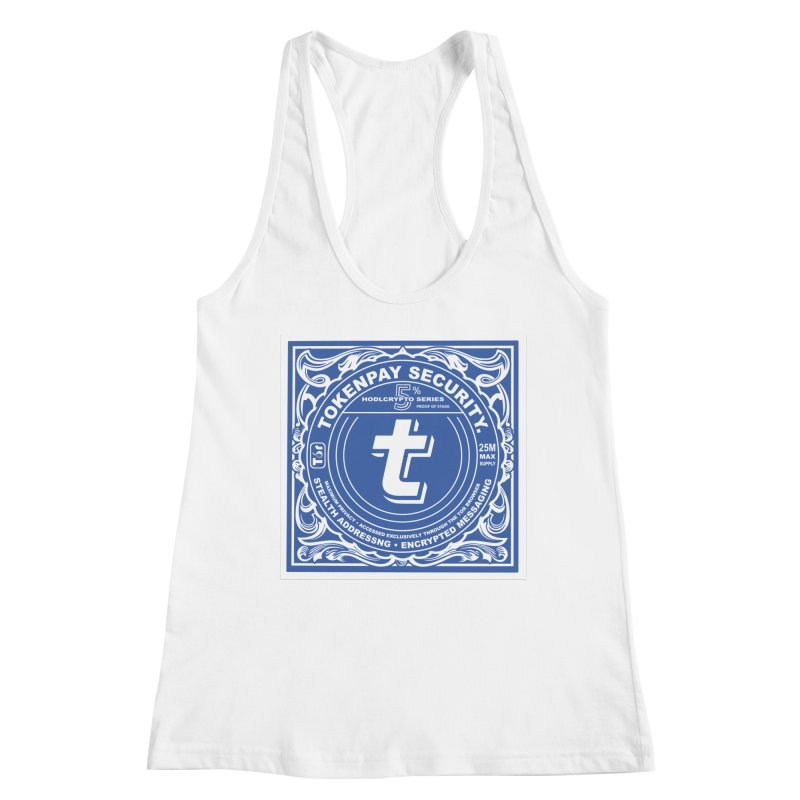 Tokenpay Security Women's Racerback Tank by HODL's Artist Shop