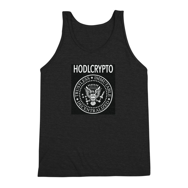 The Death of Fiat Men's Tank by HODL's Artist Shop