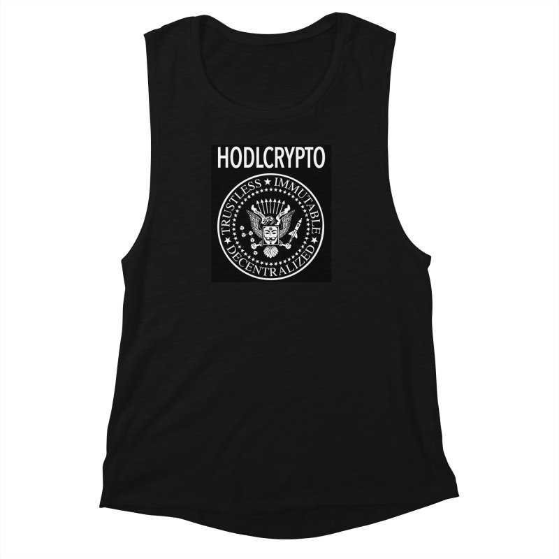 The Death of Fiat Women's Muscle Tank by HODL's Artist Shop