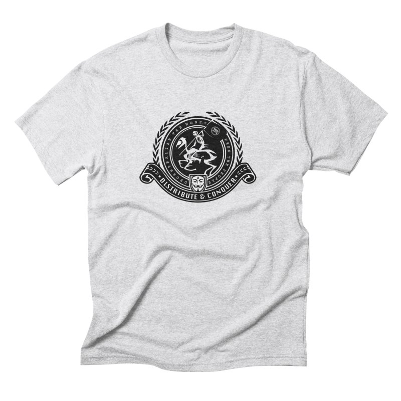 Distribute & Conquer Men's T-Shirt by HODL's Artist Shop