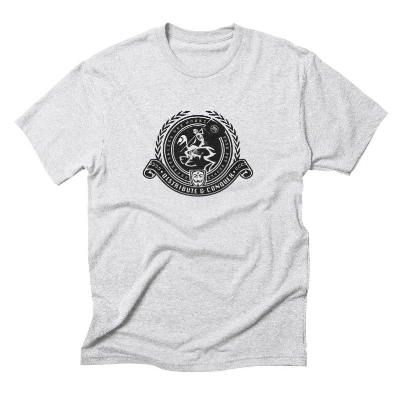 Distribute & Conquer Men's Triblend T-Shirt by HODL's Artist Shop