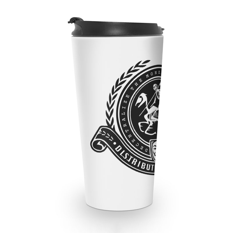 Distribute & Conquer Accessories Travel Mug by HODL's Artist Shop