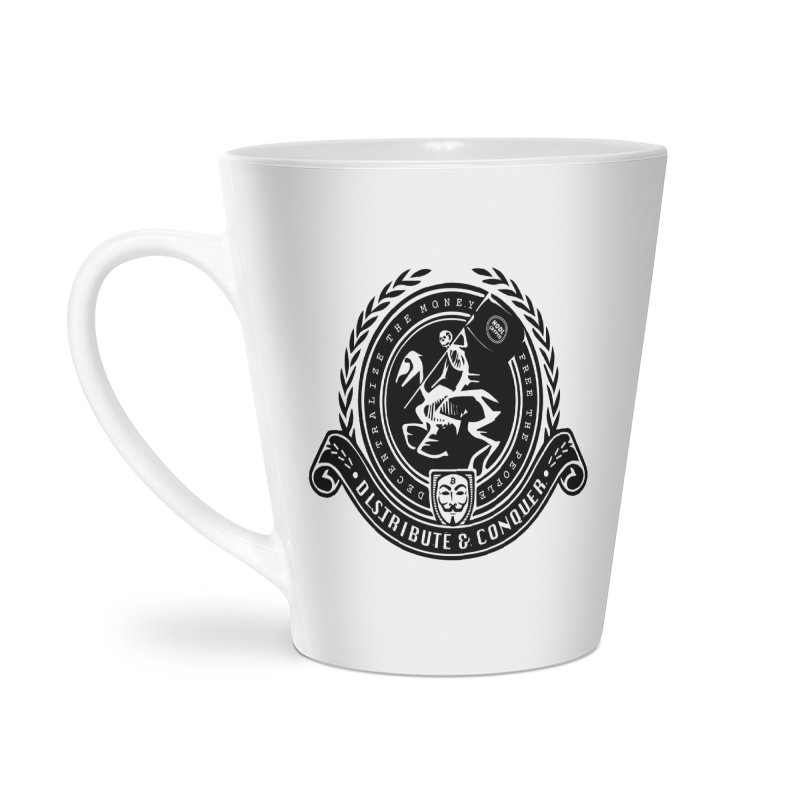 Distribute & Conquer Accessories Latte Mug by HODL's Artist Shop
