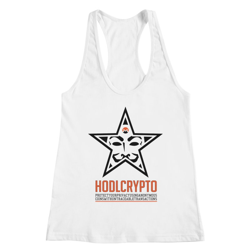 Protect your Privacy Women's Racerback Tank by HODL's Artist Shop
