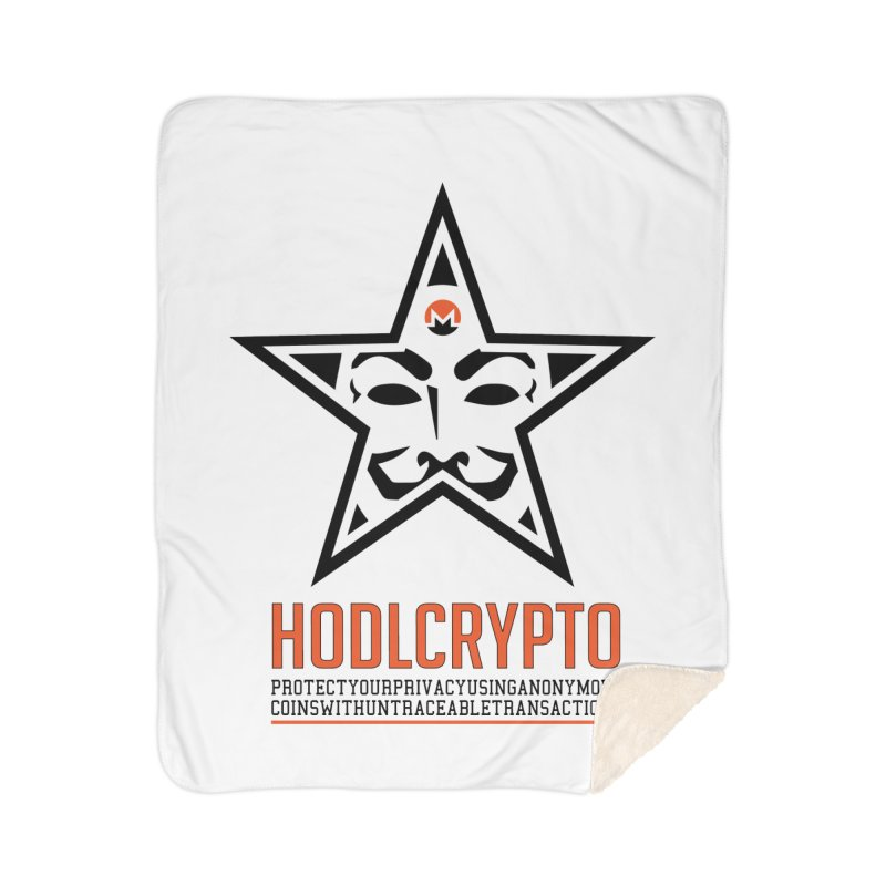 Protect your Privacy Home Sherpa Blanket Blanket by HODL's Artist Shop