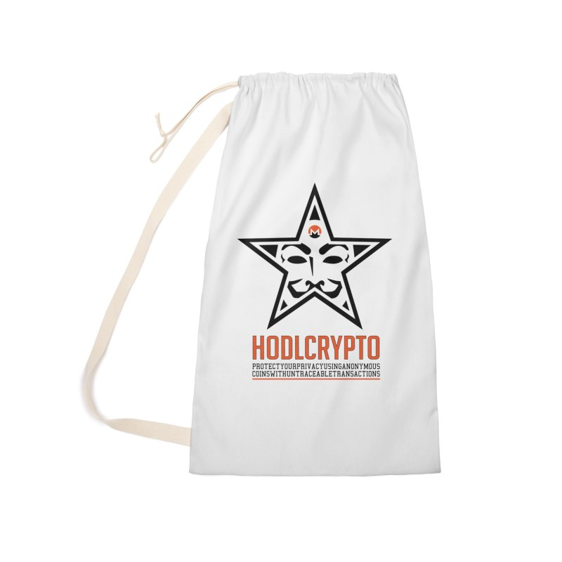 Protect your Privacy Accessories Laundry Bag Bag by HODL's Artist Shop