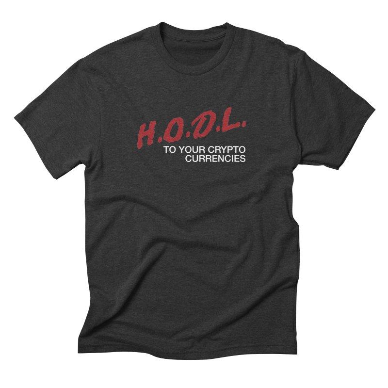 H.O.D.L. Men's T-Shirt by HODL's Artist Shop