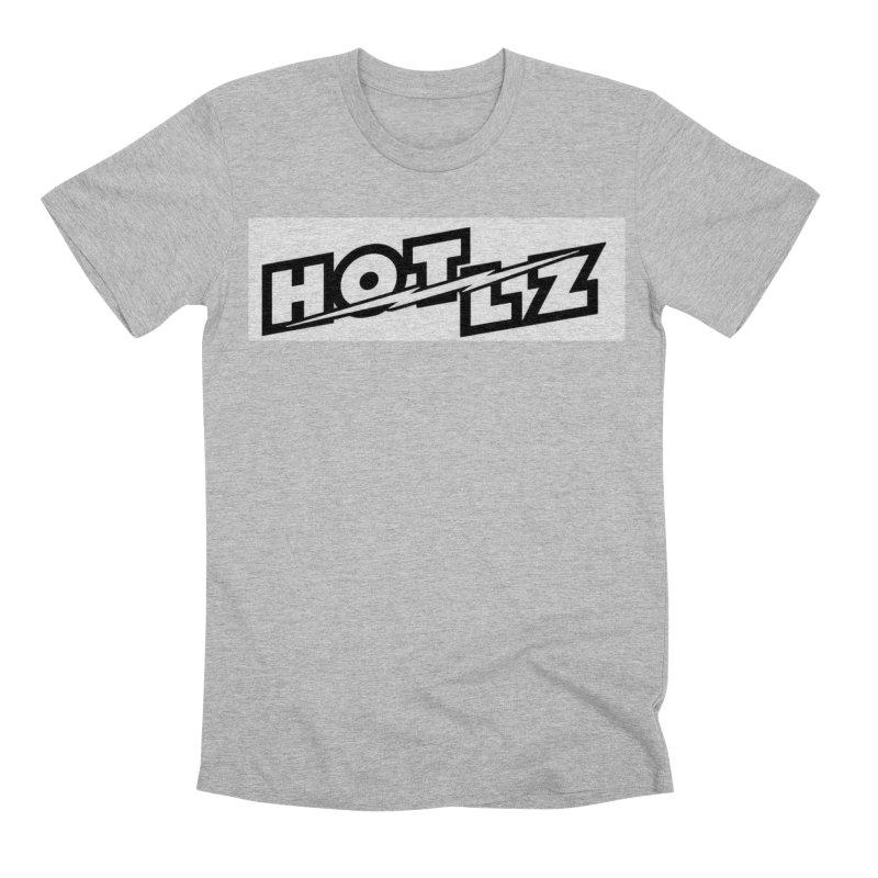 HOT LZ Lightning bolt Men's Premium T-Shirt by HOTLZband's Artist Shop