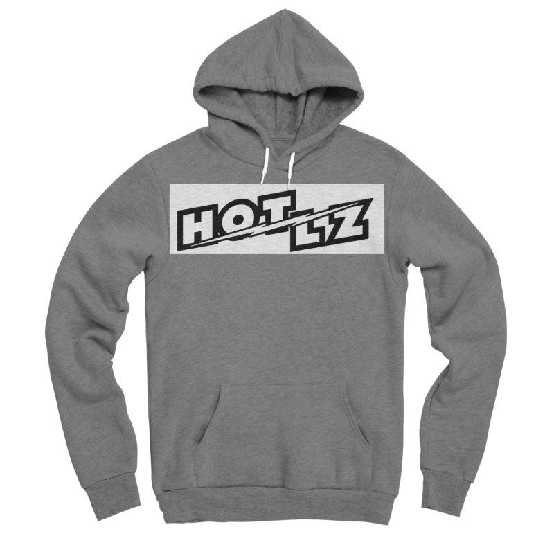 HOT LZ Lightning bolt Men's Sponge Fleece Pullover Hoody by HOTLZband's Artist Shop