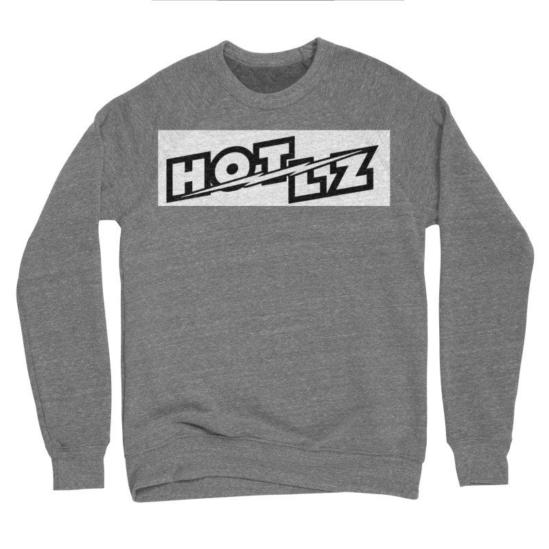 HOT LZ Lightning bolt Women's Sponge Fleece Sweatshirt by HOTLZband's Artist Shop