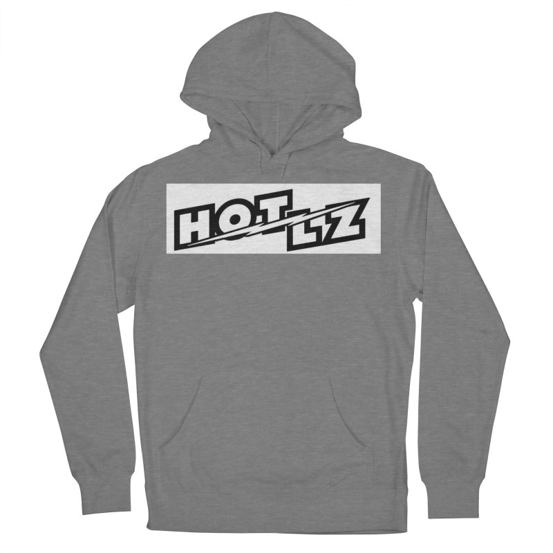 HOT LZ Lightning bolt Women's French Terry Pullover Hoody by HOTLZband's Artist Shop