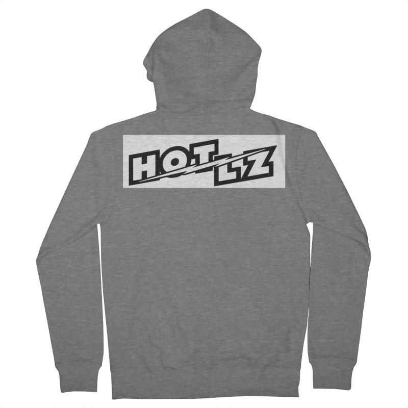 HOT LZ Lightning bolt Men's Zip-Up Hoody by HOTLZband's Artist Shop