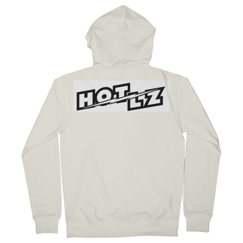HOT LZ Lightning bolt Men's French Terry Zip-Up Hoody by HOTLZband's Artist Shop