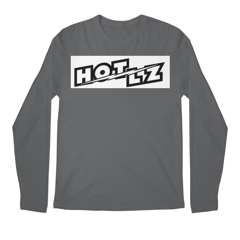 HOT LZ Lightning bolt Men's Longsleeve T-Shirt by HOTLZband's Artist Shop