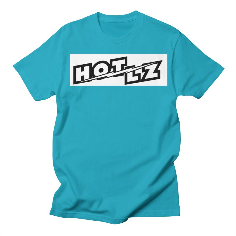 HOT LZ Lightning bolt Men's Regular T-Shirt by HOTLZband's Artist Shop