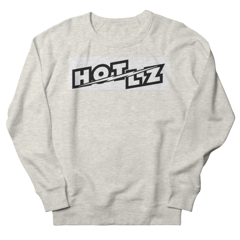 HOT LZ Lightning bolt Men's French Terry Sweatshirt by HOTLZband's Artist Shop