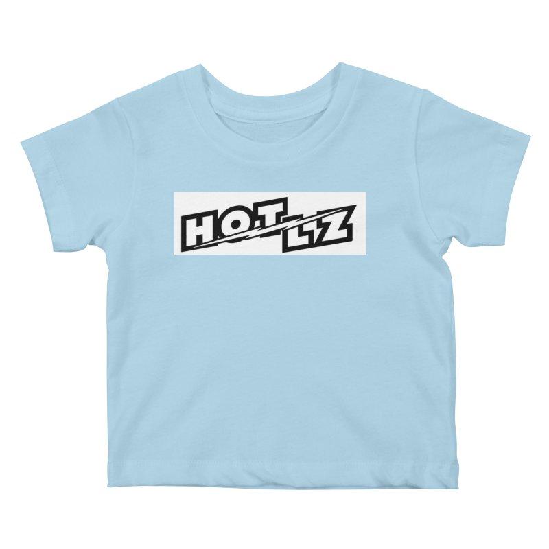 HOT LZ Lightning bolt Kids Baby T-Shirt by HOTLZband's Artist Shop