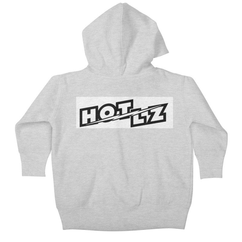 HOT LZ Lightning bolt Kids Baby Zip-Up Hoody by HOTLZband's Artist Shop