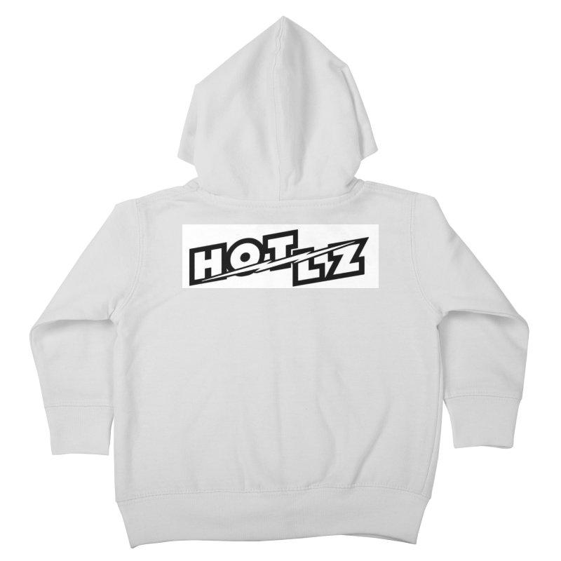 HOT LZ Lightning bolt Kids Toddler Zip-Up Hoody by HOTLZband's Artist Shop