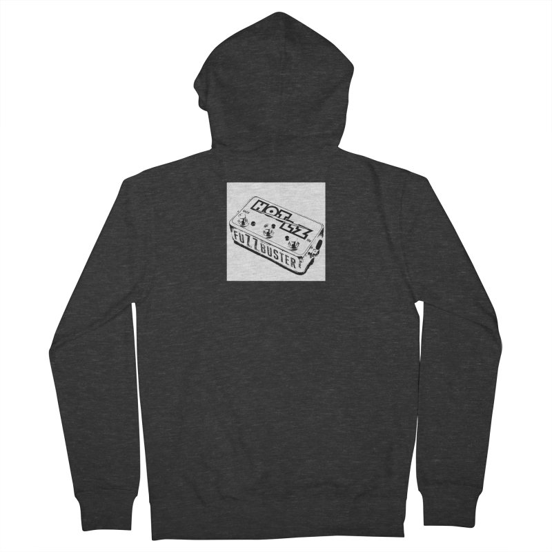 fuZZbuster Men's French Terry Zip-Up Hoody by HOTLZband's Artist Shop