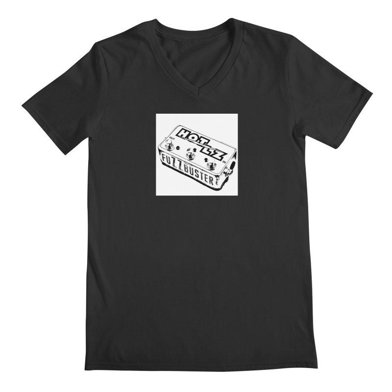 fuZZbuster Men's Regular V-Neck by HOTLZband's Artist Shop