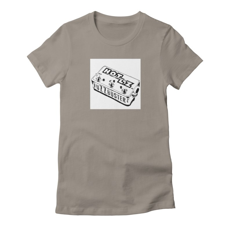 fuZZbuster Women's Fitted T-Shirt by HOTLZband's Artist Shop