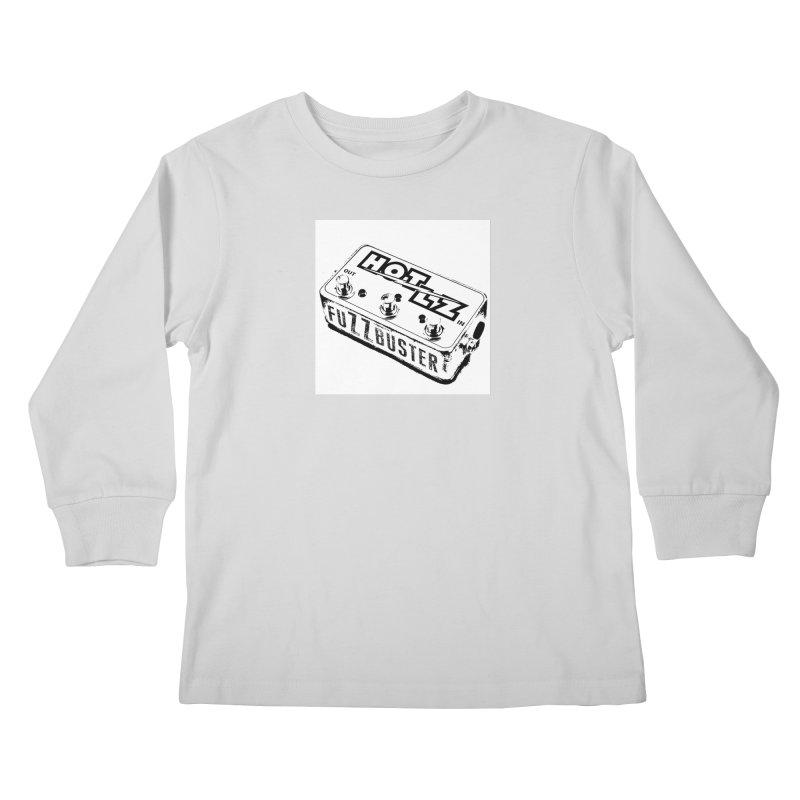 fuZZbuster Kids Longsleeve T-Shirt by HOTLZband's Artist Shop