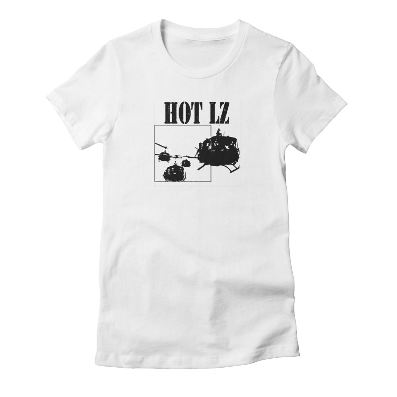 HOT LZ Women's Fitted T-Shirt by HOTLZband's Artist Shop