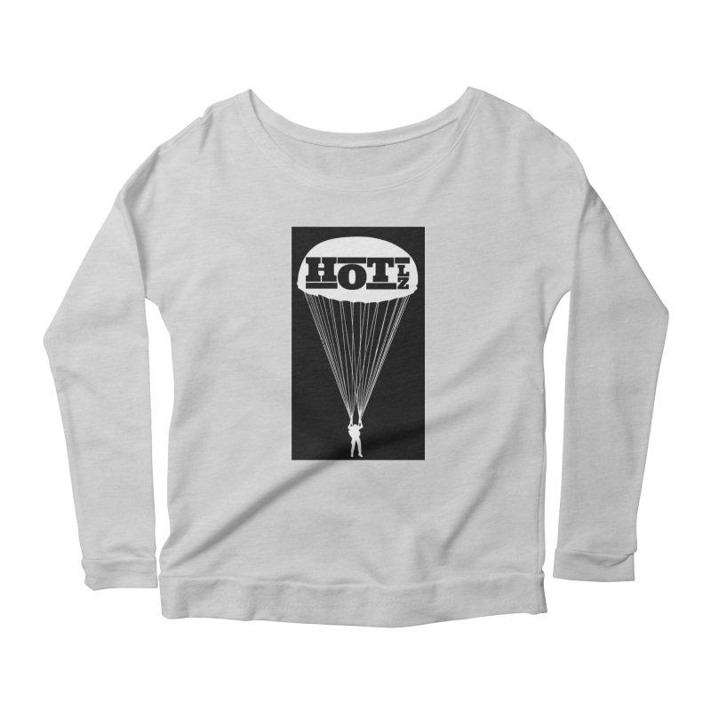 HOT LZ Jump Man Women's Scoop Neck Longsleeve T-Shirt by HOTLZband's Artist Shop