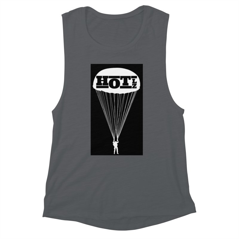 HOT LZ Jump Man Women's Muscle Tank by HOTLZband's Artist Shop