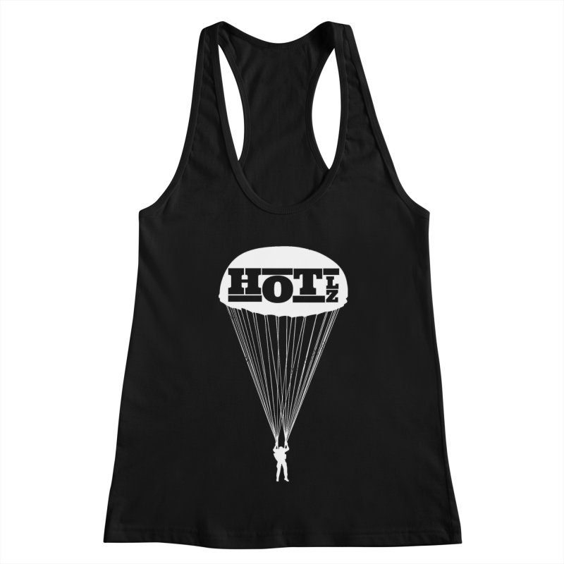 HOT LZ Jump Man Women's Racerback Tank by HOTLZband's Artist Shop