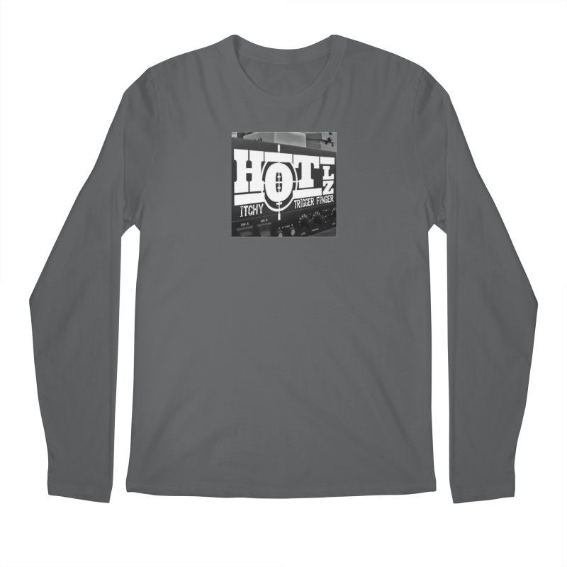Itchy Trigger Finger Men's Longsleeve T-Shirt by HOTLZband's Artist Shop