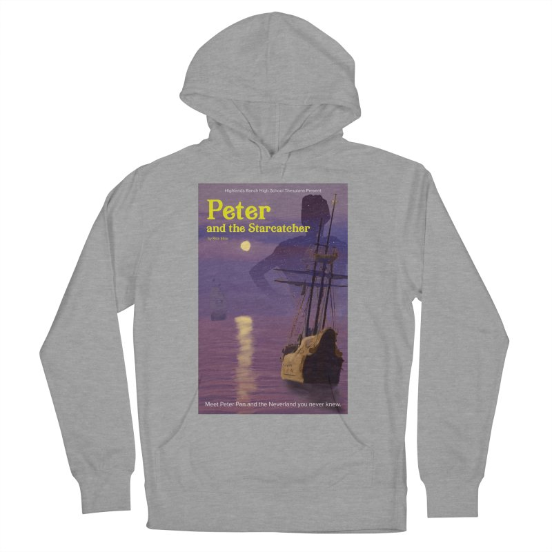 Peter and the Starcatcher Men's French Terry Pullover Hoody by HRHS Thespian Swaggy Tees