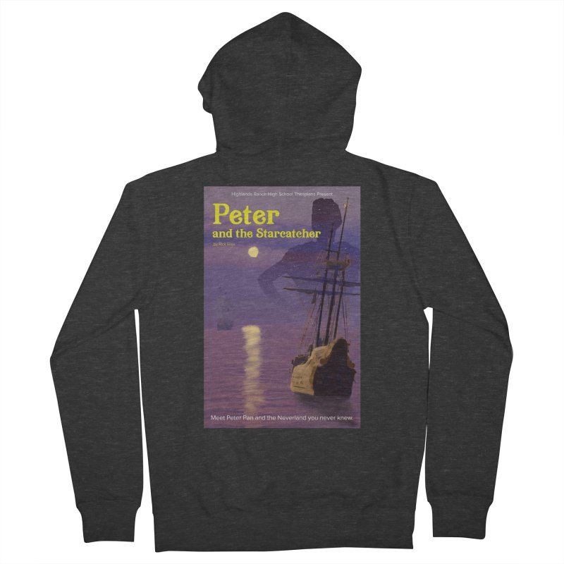 Peter and the Starcatcher Women's French Terry Zip-Up Hoody by HRHS Thespian Swaggy Tees