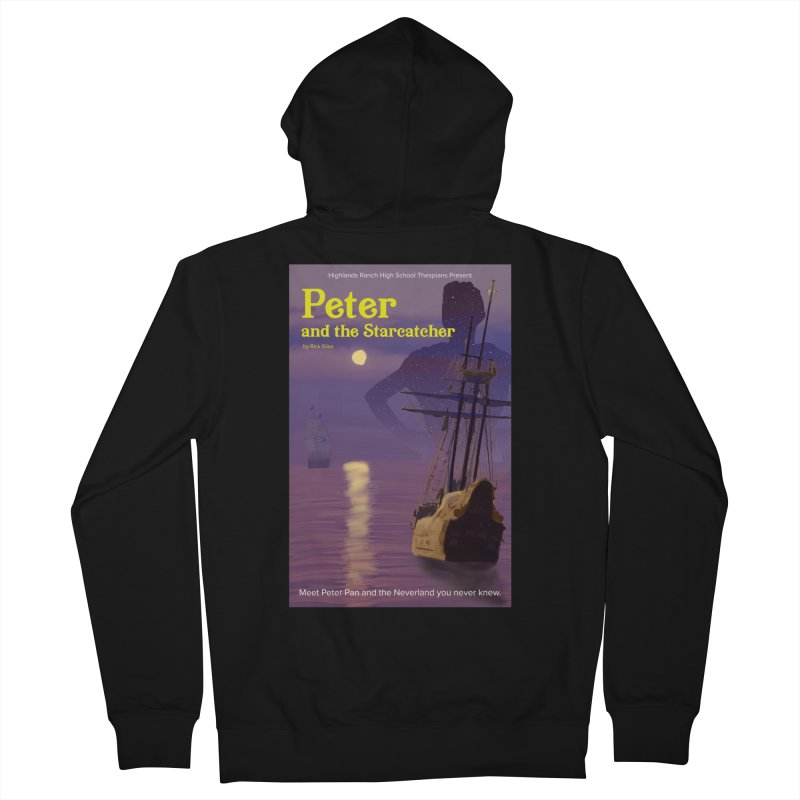 Peter and the Starcatcher Men's French Terry Zip-Up Hoody by HRHS Thespian Swaggy Tees