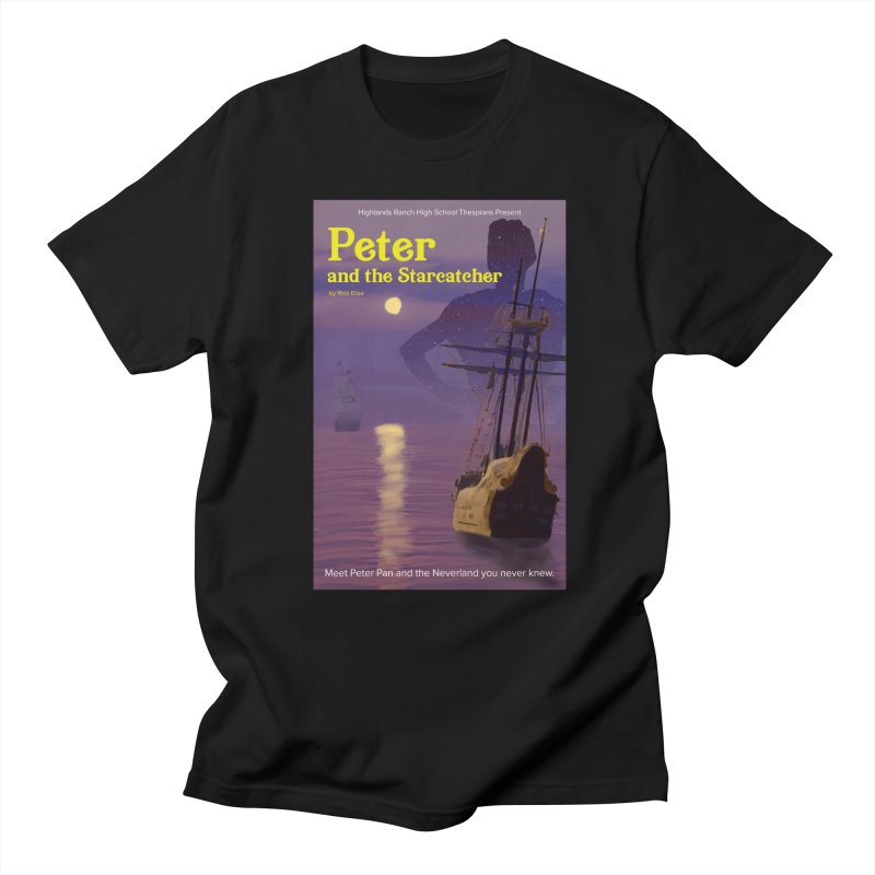 Peter and the Starcatcher Men's Regular T-Shirt by HRHS Thespian Swaggy Tees