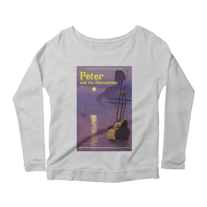 Peter and the Starcatcher Women's Scoop Neck Longsleeve T-Shirt by HRHS Thespian Swaggy Tees