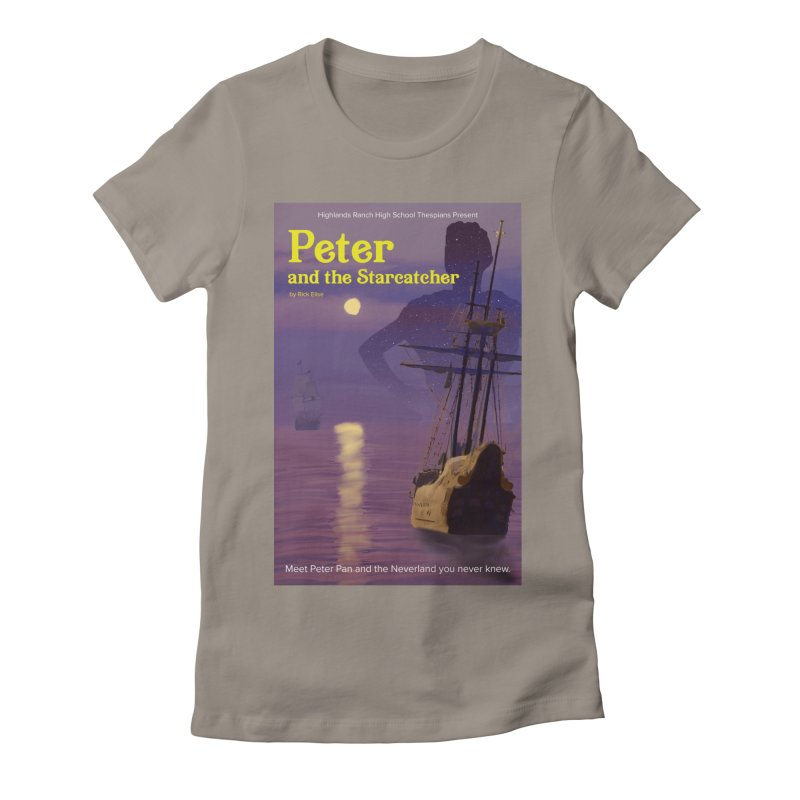 Peter and the Starcatcher Women's Fitted T-Shirt by HRHS Thespian Swaggy Tees