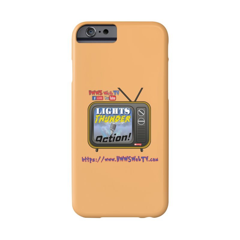 Lights Thunder Action on HWWS WebTV: T-Shirts, Phone Cases, Mugs and MORE ... Accessories Phone Case by HWWSWebTV's Artist Shop