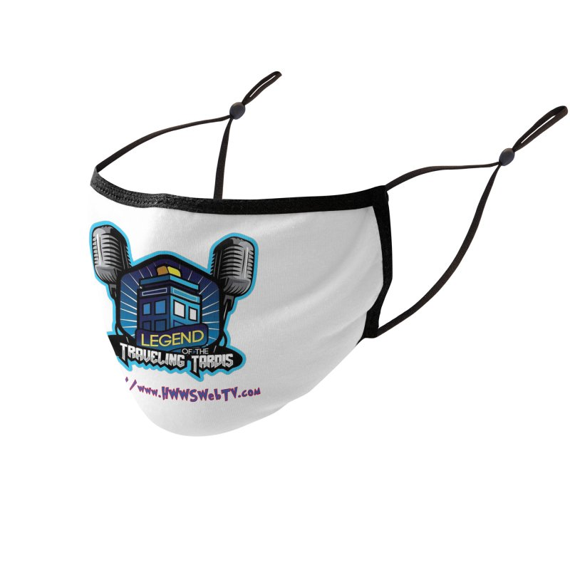 The Legend of the Traveling Tardis: T-Shirts, Mugs, Cases and MORE ... Accessories Face Mask by HWWSWebTV's Artist Shop