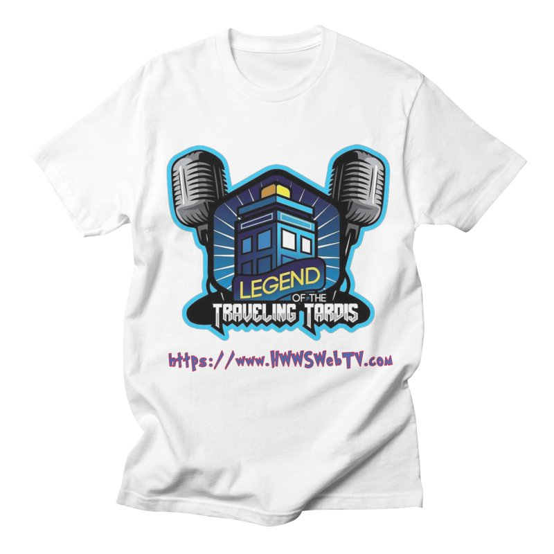 The Legend of the Traveling Tardis: T-Shirts, Mugs, Cases and MORE ... Men's T-Shirt by HWWSWebTV's Artist Shop
