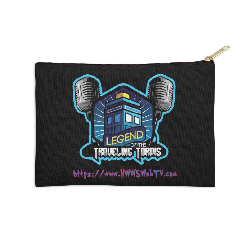 The Legend of the Traveling Tardis: T-Shirts, Mugs, Cases and MORE ... Accessories Zip Pouch by HWWSWebTV's Artist Shop