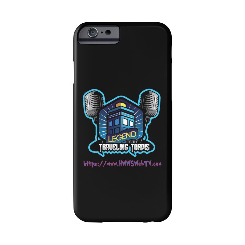 The Legend of the Traveling Tardis: T-Shirts, Mugs, Cases and MORE ... Accessories Phone Case by HWWSWebTV's Artist Shop