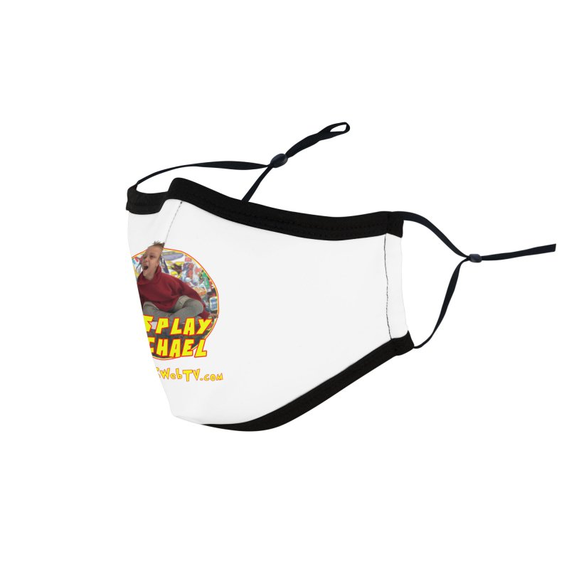 Cosplay Michael on HWWS WebTV: T-Shirts, Mugs, Stickers and MORE ... Accessories Face Mask by HWWSWebTV's Artist Shop