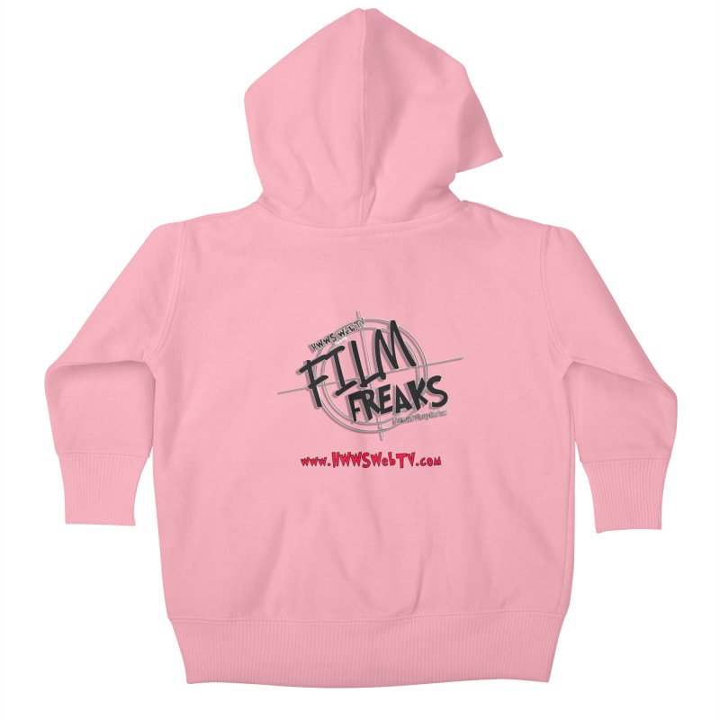 Film Freaks Watch Party Series: T-Shirts, Stickers and MORE ... Kids Baby Zip-Up Hoody by HWWSWebTV's Artist Shop
