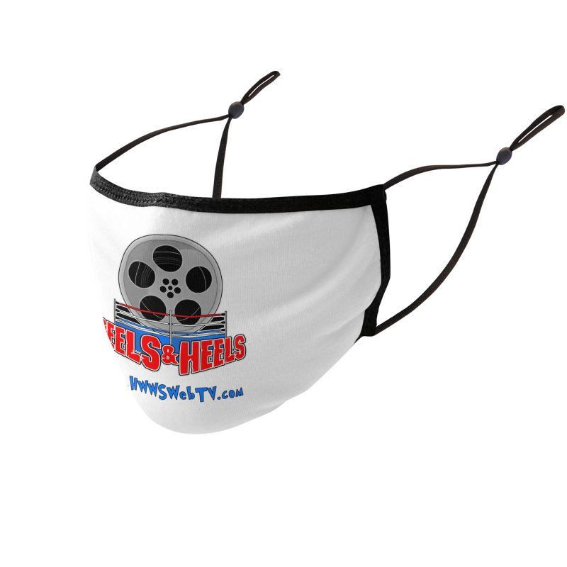 Reels & Heels Show: T-Shirts, Stickers, and MORE... Accessories Face Mask by HWWSWebTV's Artist Shop